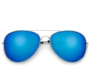 Ice Blue Color Mirror Classic Aviator #50250