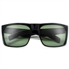 Oversized 60mm Bold Flat Top Full Coverage Shades