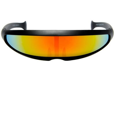 8cdf849619552 Cyclops Visor Shield Futuristic Costume Sunglasses
