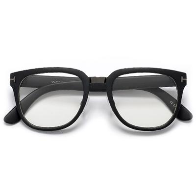 8794b96cc3 Designer Inspired Sleek 50s Retro Inspired Square Frame Glasses